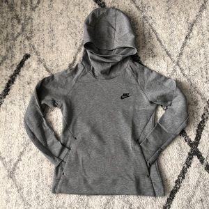 Nike girls mock neck hoodie